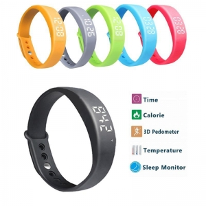 China Smart Watch Wristband Step Walking Distance Counter Activity Tracker on sale