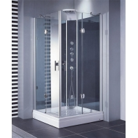 Custom Square Plastic Hinged Shower Cabinet Made in China
