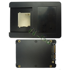 China To CF/CFast/SD/TF SD to SATA Adapter With Card Case on sale
