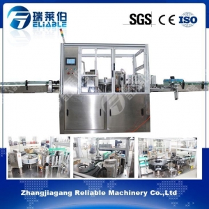 China Wholesale Automatic Bottle Labeler OPP Hot Melt Glue Sticks Labeling Machine on sale