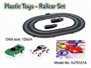 China HJ75101a Plastic Railcar Set on sale