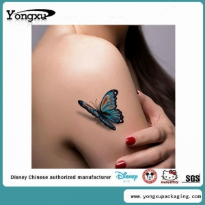 China 3D Body Custom Temporary Butterfly Tattoos Cheap(ET4-1) on sale