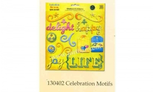 China Chipboard sticker 130402 celebration motifs on sale
