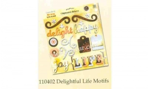 China Chipboard sticker 110402 delight ful life motifs on sale