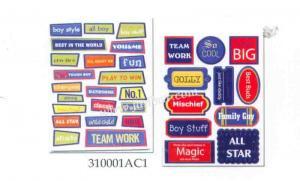 China Chipboard sticker 310001AC1 on sale