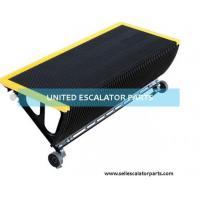 China Escalator step stainless black parts for kone sjec schindler otis thyssen on sale