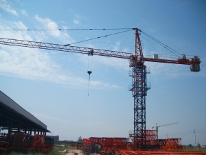 China TC4708-QTZ40 4T Hammerhead Tower Crane on sale