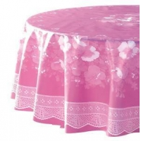 Manufacturer PVC Printing Table Cloths for Wedding and Party