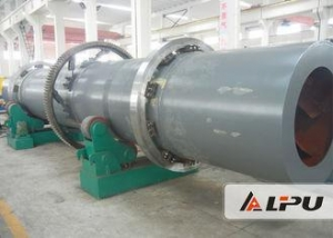 China Hot Air Flow Sewage Sludge Dryer Machine for Industrial Sludge Treatment on sale