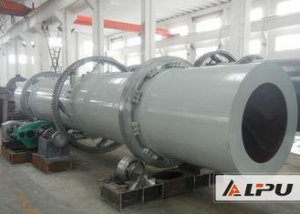 China Stainless Steel Rotary Industrial Drying Equipment For Copper Concentrate on sale