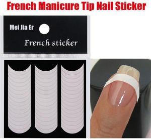 China Nail Art French nail sticker on sale