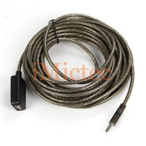 China Long USB Extension Cable with Amplifier on sale