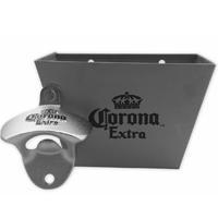 China Combo Wall Mount Bottle Opener With Cap Catcher Set on sale