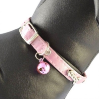 China Pet Dog Supplies Rhinestone Dog Collars on sale