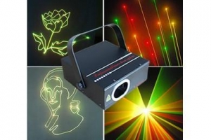 China Step Motos Laser RGY laser light Mini dico animation light on sale