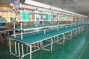 China Lean Pipe Production Line on sale
