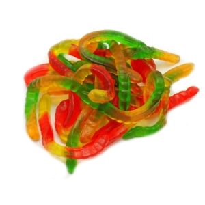China Gummy Worm Asst on sale