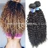 China Kinky Curly Hair Extension Human Hair Wholesale Virgin Brazilian Remy Hair for sale