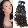 China Top Quality Grade 7A Curly Wave Human Hair Virgin Brazilian Weave Wholesale for sale