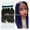 China High grade top quality brazilian human relaxed straight hair for sale