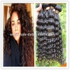 China Great feedback human hair full and thick tangle free 100 brazilian curly hair for sale