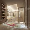 China Luxury Bathroom Rendering, Interior Design Rendering Rendering for sale
