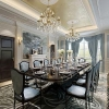 China Luxurious Dining Room Rendering, Interior Design Rendering Rendering for sale