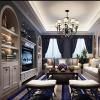 China American Interior Renderings, American Sitting Room Design Renderings for sale