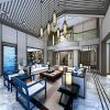 China Luxury Villa Interior Design Rendering,Mediterranean Style Villa Design for sale