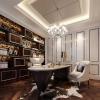 China 3d rendering dubai European reading room reandering classical reading room rendering for sale