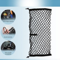 cargo net organizer sturdy trunk backseat storage mesh strong elastic