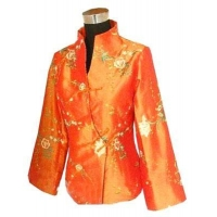 China Women Blouses Embroidery peony on sale