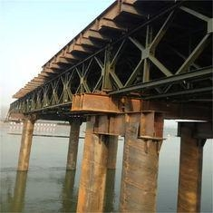 China Galvanized Bailey Steel Deck Panels Pins Connecting For Modular Steel Bridges on sale