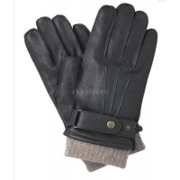 China Mens deerskin leather gloves on sale