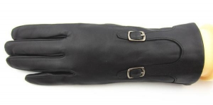 China Wool Lined Ladies Goat Nappa Leather Gloves on sale