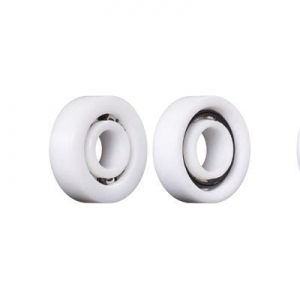 China plastic pulley with ball bearing ZZ version on sale