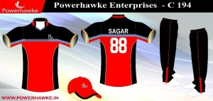 China RCB sublimation cricket uniform on sale