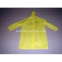 China EVA Raincoat High Quality Waterproof EVA Yellow Raincoat for Men on sale