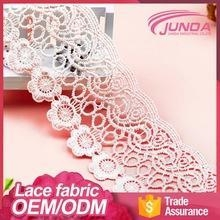 China New style high quality lace trimming border market in guangzhou on sale