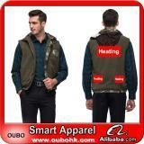 China Apparel Winter Vest With High-Tech Electric Heating System Battery Heated Clothing Warm OUBOHK on sale