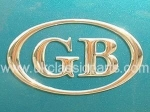 Accessories Trim and Brightwork GB BADGE OVAL