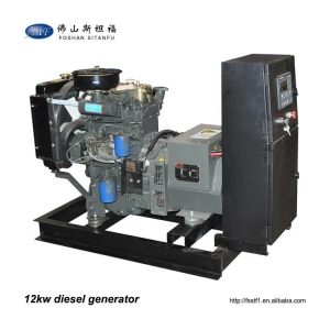 China Chinese low price 12kw 15kva single phase diesel generator on sale