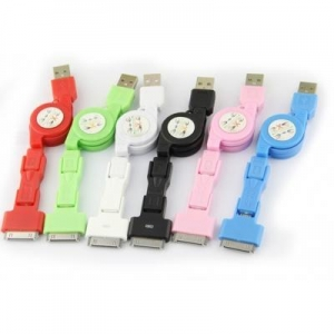China USB to Micro USB to Mini USB to 30 pins cable on sale