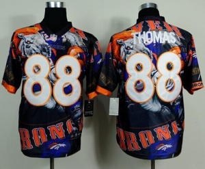 China Nike Broncos #88 Demaryius Thomas Team Color Men's Stitched NFL Elite Fanatical Version Jersey on sale