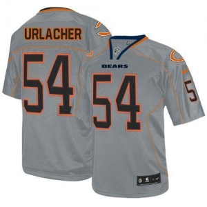China Nike Bears #54 Brian Urlacher Lights Out Grey Men's Stitched NFL Elite Jersey on sale