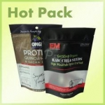 CE Certified Raw Chia Seed Stand Up Pouch Bags Resealable With Clear Window