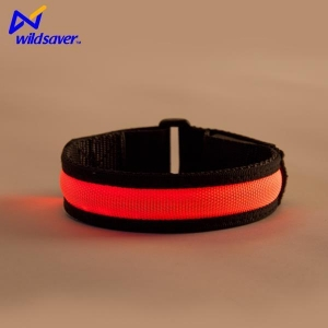 China Sports Gear Sports Running Safety Arm Band Fashion Arm Belt LED Glowing Armband on sale