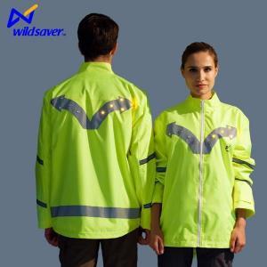 China LED Warning Reflective Hi Vis Sports Team Safety Moto Biker Waterproof Jackets on sale