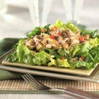 Mustard Asian Chicken & Broccoli Slaw Salad