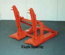 China Drum lifters for forklifts ( single, double or triple ) on sale